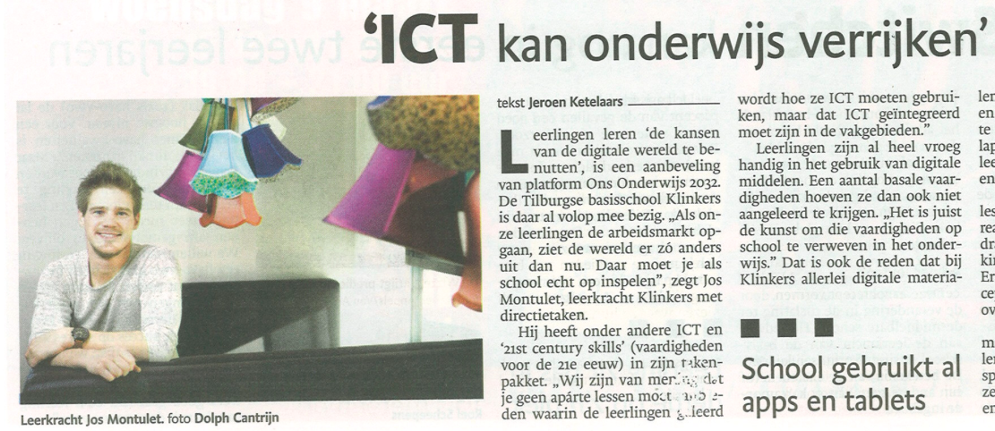 ICT kan het onderwijs verrijken
